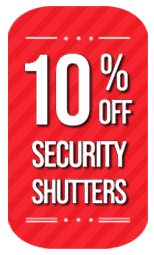 10% off Security Shutters in August