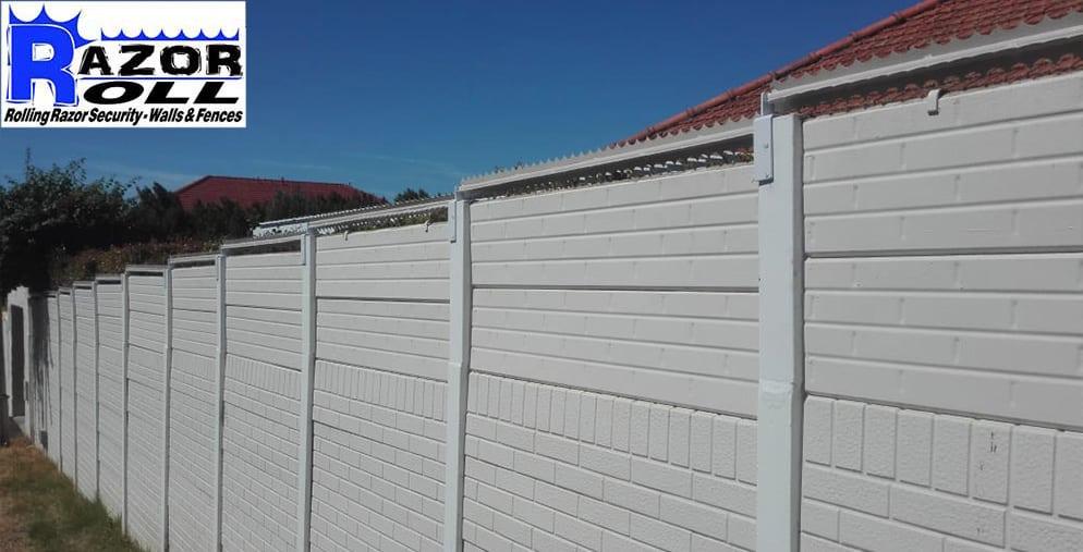Razor-Roll-on-top-of-vibracrete-wall
